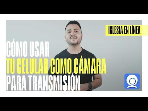 Cómo usar tu celular como cámara para transmisión | IGLESIA EN LÍNEA | DIRECTOR CREATIVO