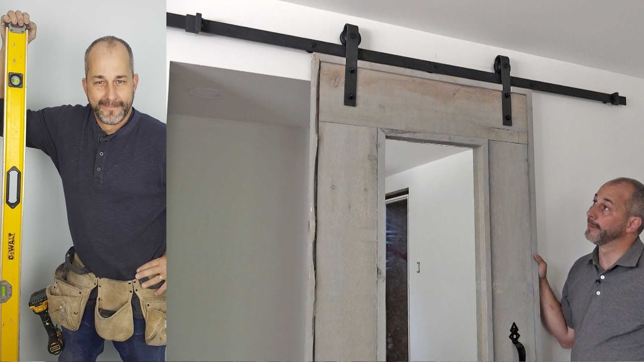 How To Install A Hanging Barn Door