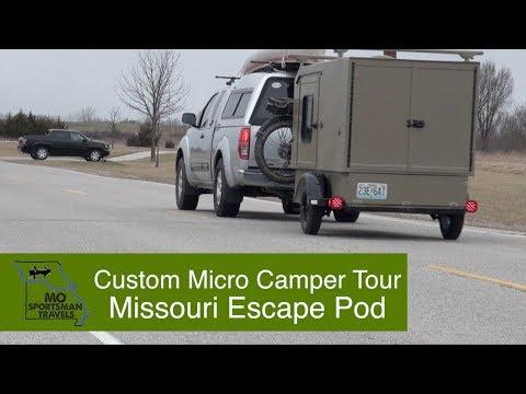 Custom Micro Camper Tour - Missouri Escape Pod