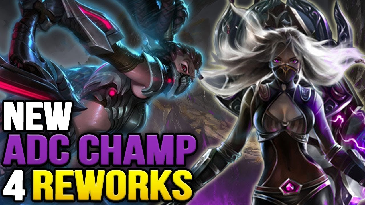 New ADC + 4 Reworks Announced (League of Legends)