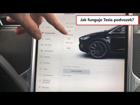 #69 Tesla Model X vzduchový podvozek (Air Suspension) | Teslacek