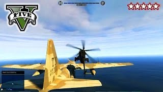 GTA 5 LANDED IT! on C130 - Stunts and Jumps! With The CREW! - Grand Theft Auto 5