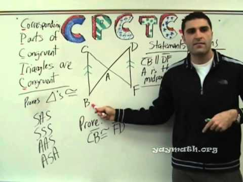 Geometry - CPCTC (proofs)