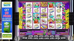 Stinkin Rich Pokie Machine - Free Feature - Good Win On The Free Spins - Great Video Slots