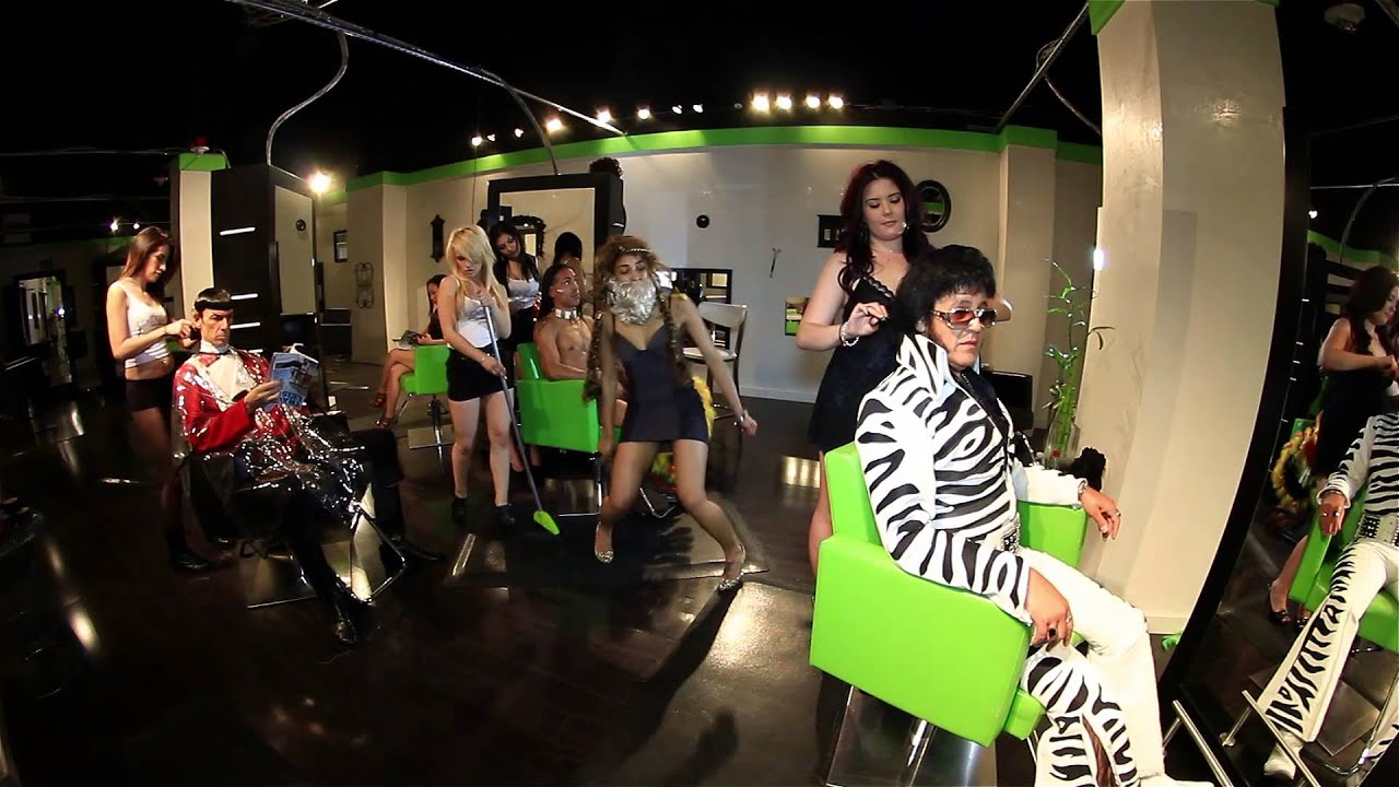harlem shake exposed salon las vegas - youtube