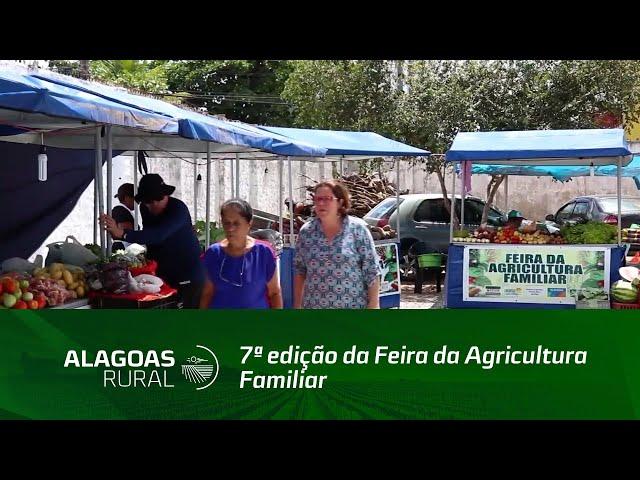 Fetag Alagoas realiza 7ª edição da Feira da Agricultura Familiar