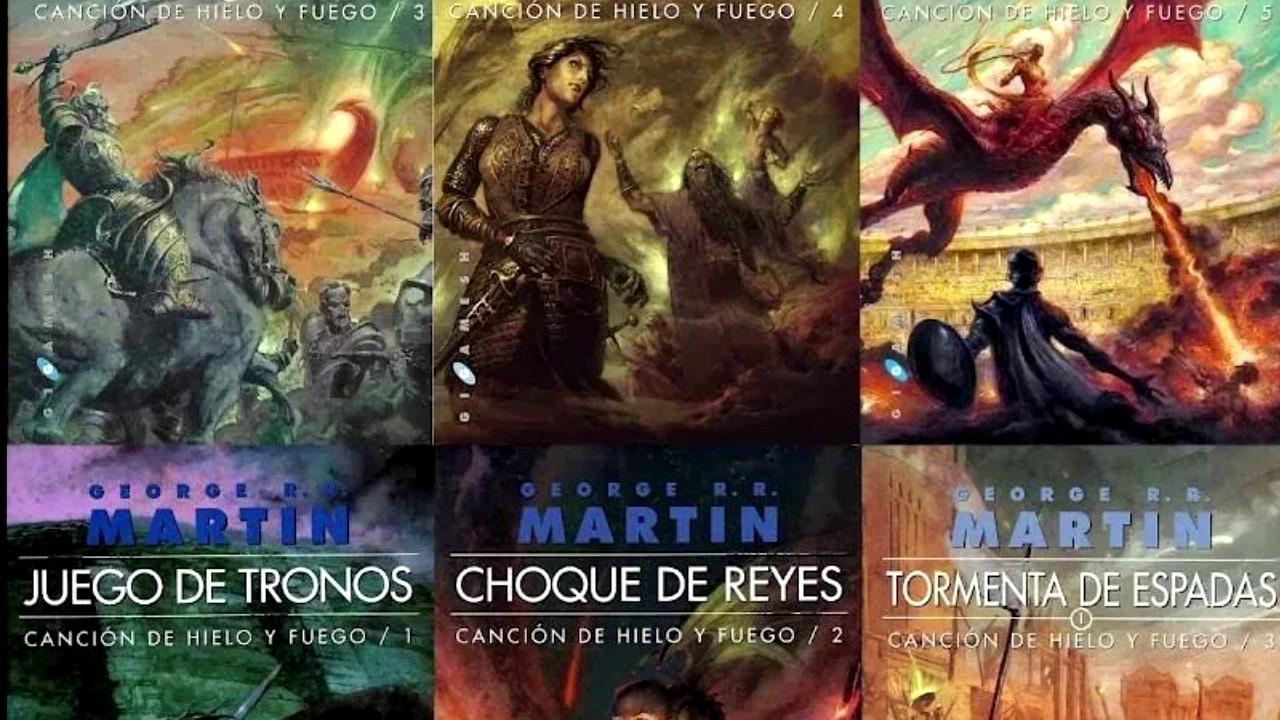 Descargar Libros Juego De Tronos (Game of Thrones) | PDF | MEGA ...