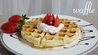 (ENG SUB) homemade waffle 집에서 …