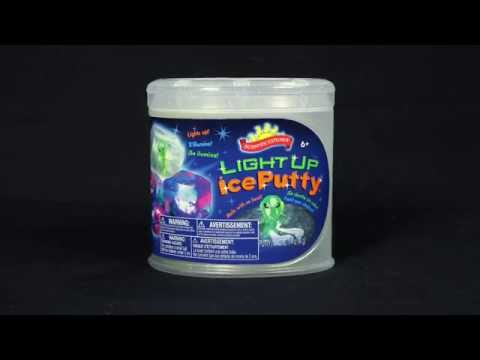 Scientific Explorer's Light Up Ice Putty Can Kit (0SA310TL)