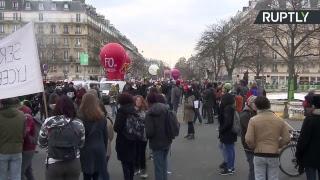Nouvelle journée d'action à Paris : les syndicats mobilisés