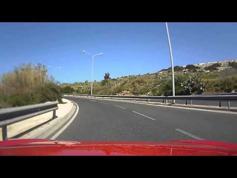 Honda S2000 In-car Vid @720P With Dash Cam Attached To The Top Of The Front Windscreen