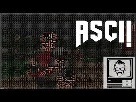 Doom Rendered In TEXT - 1337D00M | Nostalgia Nerd