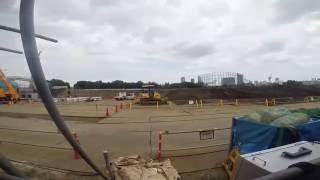TOKYO,TOKYO,TOKYO !(2020) 【Under construction】2020 TOKYO OLYMPIC STADIUM [2016.7.30] ~ 建設中!新国立競技場(1)