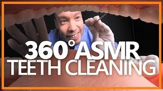 EYES IN YOUR MOUTH!?? 👀 A 360° Dentist Teeth Cleaning Roleplay (ASMR, 4K, CC)