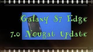 galaxy s7 edge 7 0 update sprint