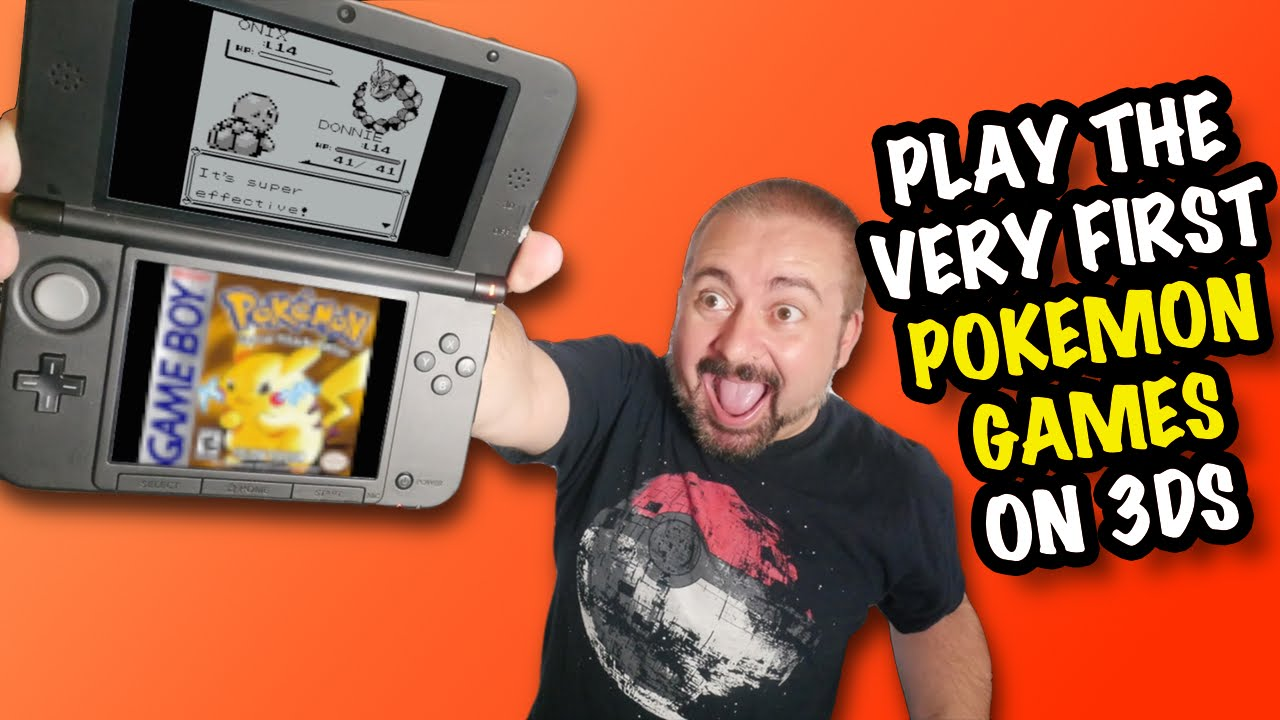 Nostalgia Amp Rant Pok 233 Mon Red Blue Amp Yellow On 3ds Virtual Console Youtube