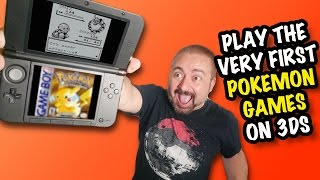 Nostalgia & RANT! Pokémon Red, Blue & Yellow on 3DS Virtual Console