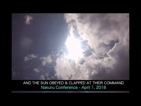 SHOCKING: THE DAY THE SUN CLAPPED AT THE COMMAND OF MAN (UPDATED VERSION)