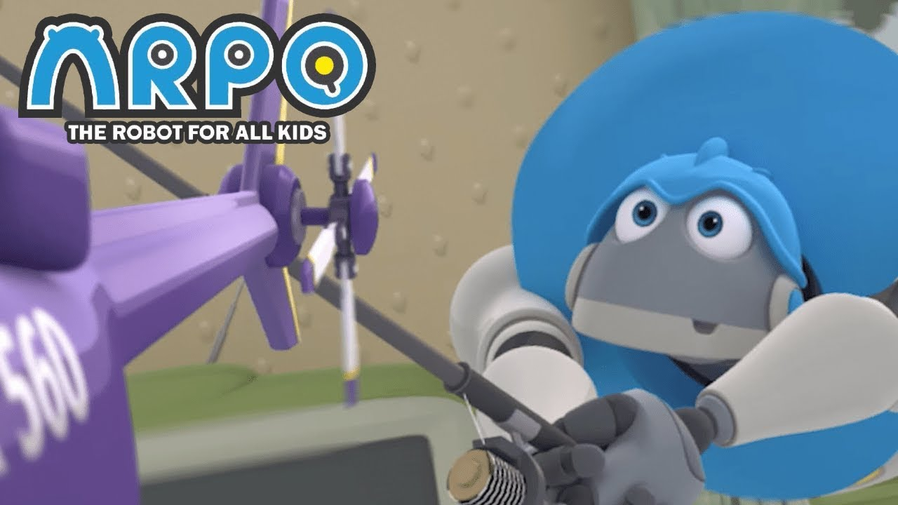 ARPO The Robot For All Kids - Helicopter Havoc | Full Episode | Cartoon for Kids