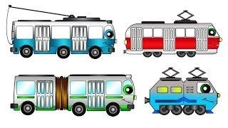 Машинки мультфильмы. Все серии подряд про Весёлый Транспорт