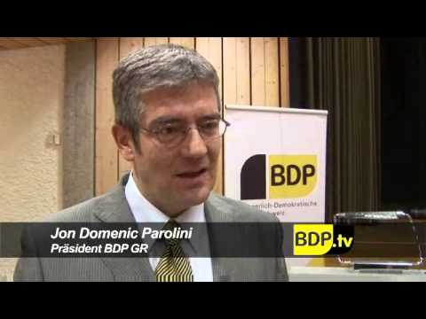 BDP Graubünden mit neuem Präsident