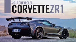 2019 Chevrolet Corvette ZR1 Review Test Drive
