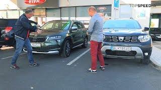 Dacia Duster dCi 4x4 a Škoda Karoq Scout porovnanie - Maroš ČABÁK a Alex ŠTEFUCA