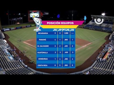 XI Juegos Centroamericanos - Nicaragua vs. Costa Rica - [Partido Completo] - [16/12/17]