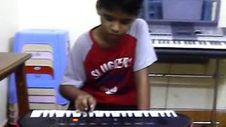 hallelujah sthuthi mahima a popular telugu christian song on keyboard by abhinav preetam