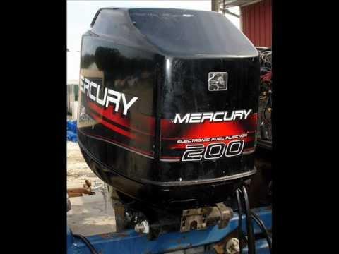 1998 mercury efi xl 200 hp outboard 25 shaft standard rotation rh youtube com Mercury 225 EFI Fuel Pump Used Mercury 200 EFI Outboard