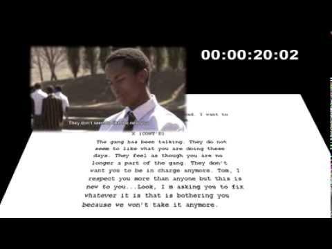 Script to Screen Film Examples