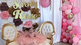 Download SERENITY'S FIRST BIRTHDAY PARTY **so beautiful** Mp3 and Videos