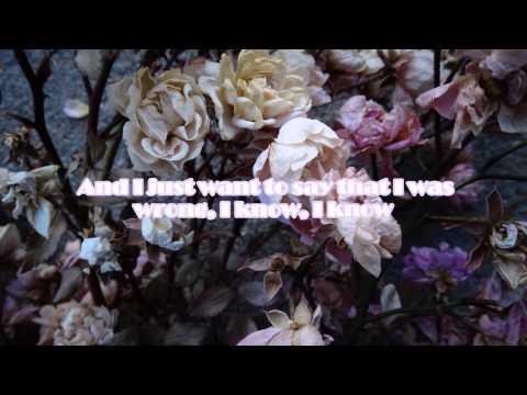 A R I Z O N A - I Was Wrong /Lyrics