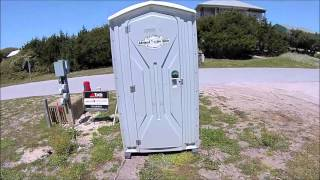 Porta Potty Re-Review New Ocean Front Home Construction With Pool - Emerald Isle, NC - April 10,2016