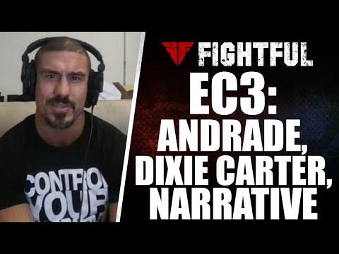EC3 Talks Andrade, Dixie Carter, ROH Deal, Danhausen, Narrative | 2021 Shoot Interview #2