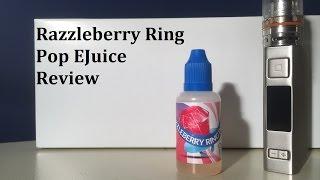 Razzleberry Ring Pop EJuice Review