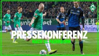 Bundesliga spieltag 14: werder bremen - sc paderborn 0:1 (0:0). florian kohfeldt und steffen baumgart in der pressekonferenz nach dem spiel.► abonnieren/subs...