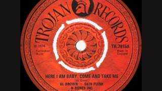 Download AL BROWN ~ HERE I AM BABY ~  BAMMIE AND FISH (TROJAN/HARRY J) 1974 REGGAE MP3 song and Music Video