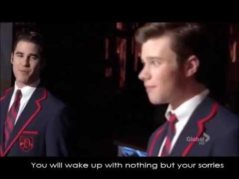 Glee - Candles (Full Performance with Lyrics)