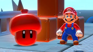 What happens if Mario collects the Super Acorn in Bowser's Fury?