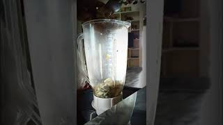 Custard apple juice making