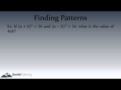Math Pattern Recognition