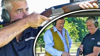 Скачать Steve Beaton Clay Pigeon Shooting With The Gun Whisperer Ahead Of The World Matchplay