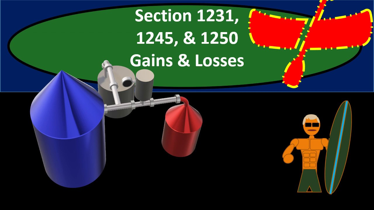 Section 1231, 1245, & 1250 Gains & Losses - Income Taxes ...