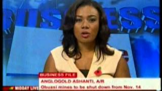 Anglogold Ashanti Obuasi mines to be shut down with effect from November, 14