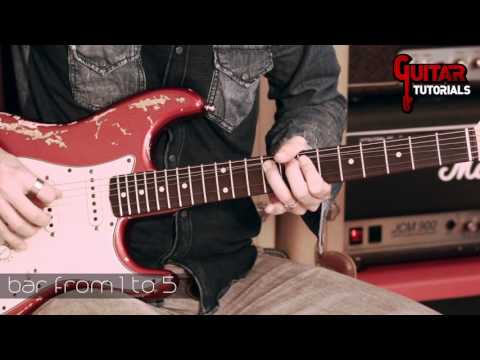 When a Blind Man Cries (Deep Purple) - Solo - Guitar Tutorial with Paul Audia