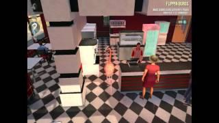 Goat Sim  Payday Walkthrough - Flipping Burgers FULL