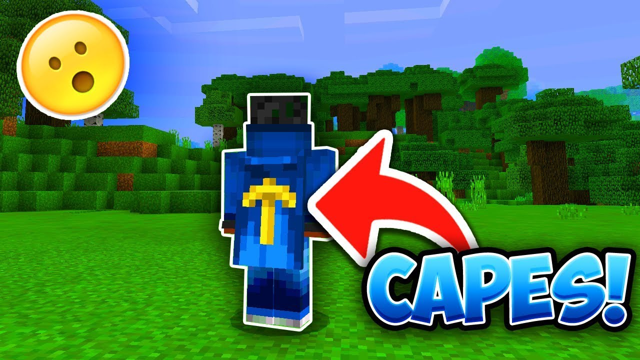 How to get CAPES in MCPE! - Minecraft PE (Pocket Edition)