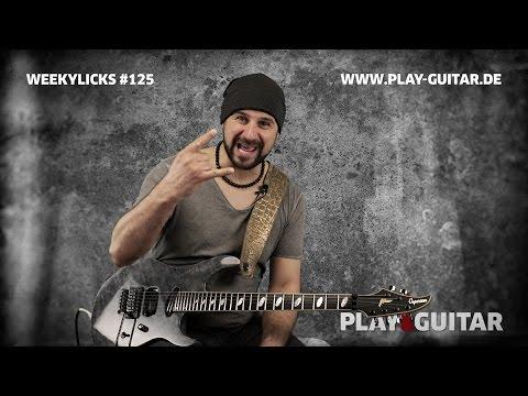 Weekylicks #125 | Play-Guitar.de