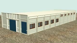 Бмз 30x12x4(Серия 7075. Монтаж одноэтажного быстромонтируемого здания из утеплённых ж/б конструкций Светловодского..., 2015-12-01T11:30:00.000Z)